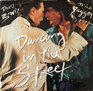 "David Bowie And Mick Jagger ‎- Dancing In The Street (12"") (F++/F++)"